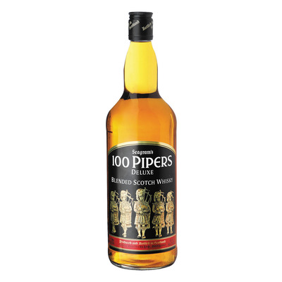 100 PIPERS SCOTCH WHISKY 1L