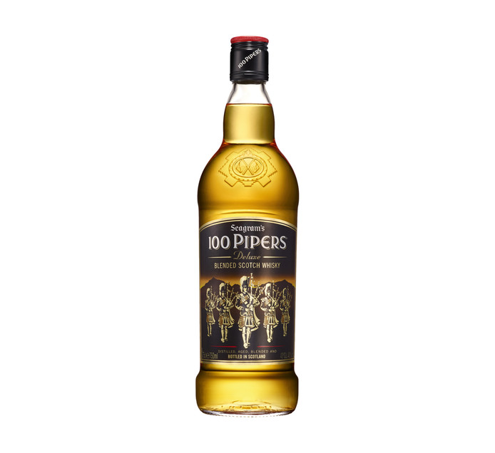 100 PIPERS SCOTCH WHISKY 750ML