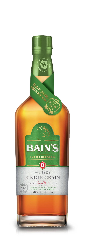 BAIN'S WHISKY CAPE MOUNTAIN SINGLE GRAIN 750ML