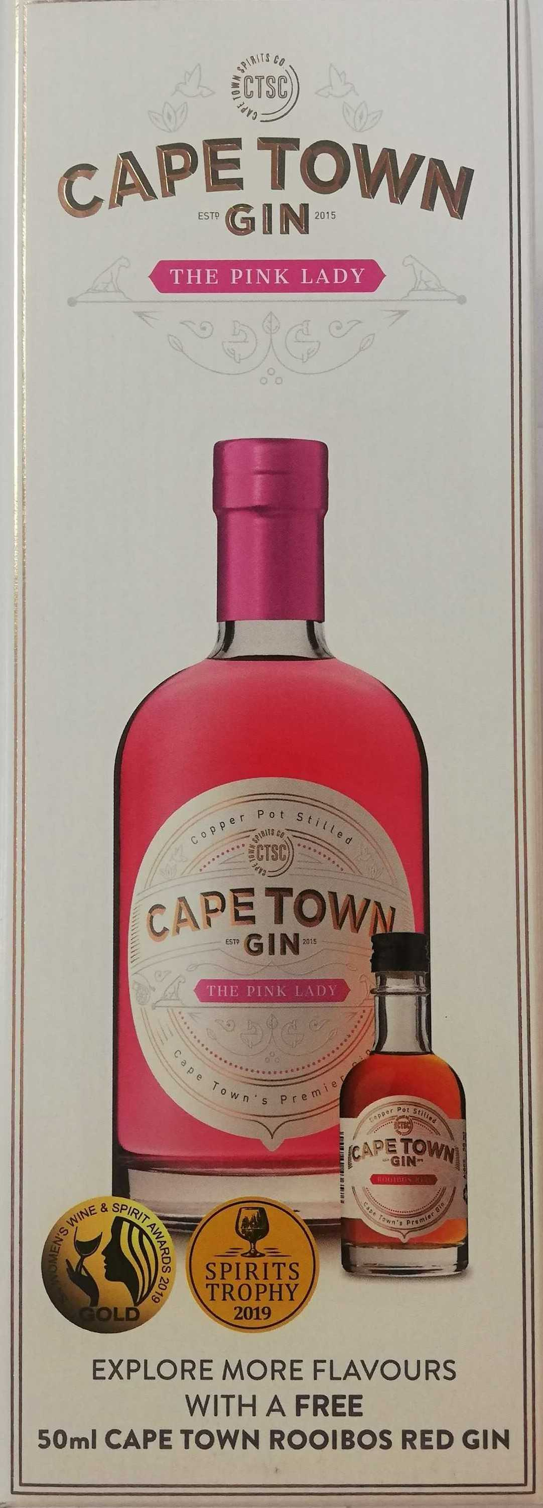 CAPE TOWN THE PINK LADY GIFT 750ML