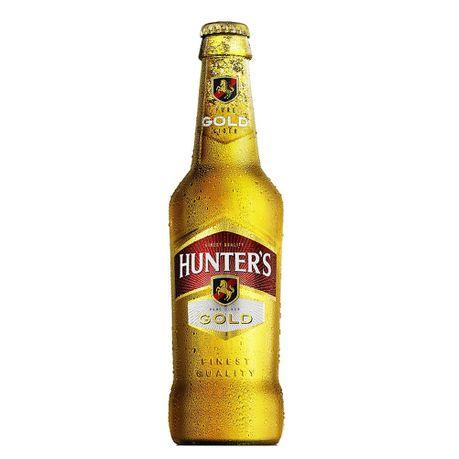 HUNTERS GOLD CIDER NRB 330ML