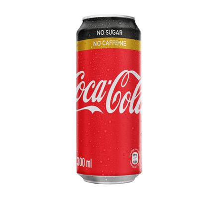 COCA-COLA SOFT DNK NO SUG/CAFFEINE 300ML