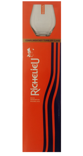 RICHELIEU BRANDY 750ML GIFT PACK