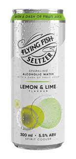 FLYING FISH SELTZER LEM & LIME CAN 300ML