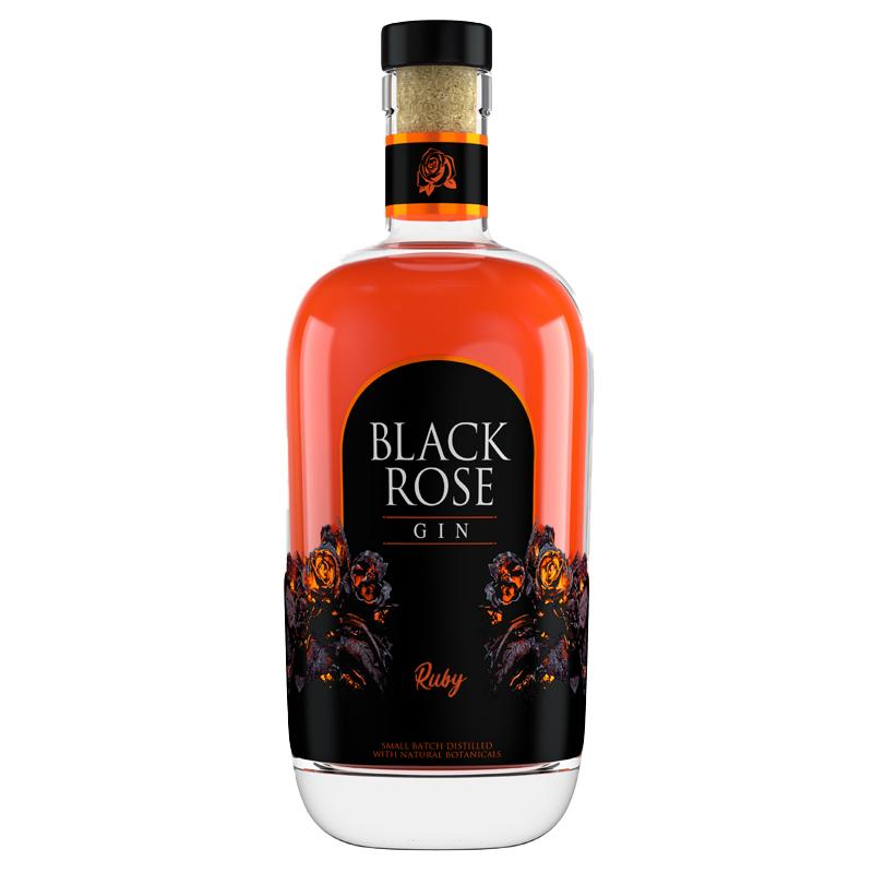 BLACK ROSE RUBY GIN 750ML