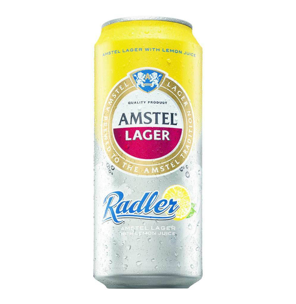 AMSTEL BEER RADLER CANS 440ML