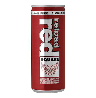 Red Square Reload No Alcohol Can 250ml