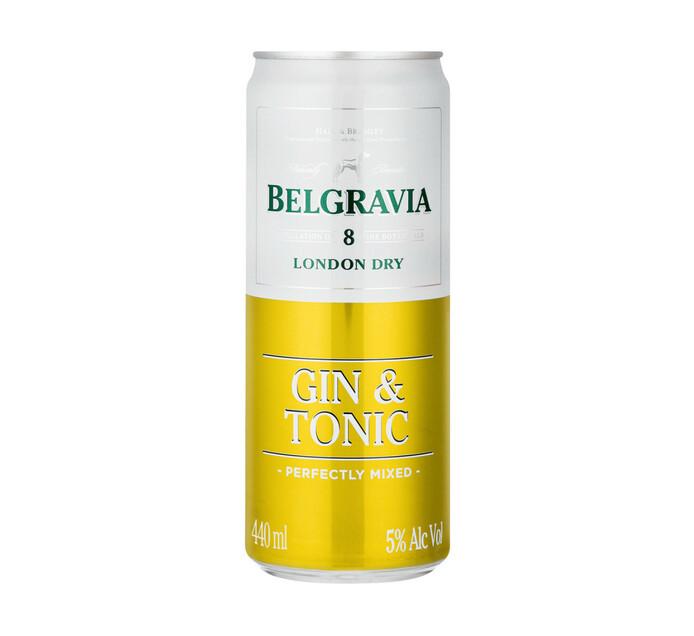 BELGRAVIA GIN&TONIC SP/COOLER 440ML