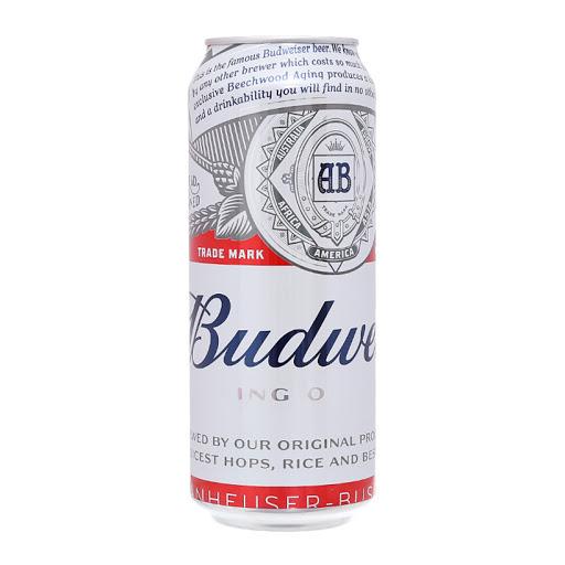 BUDWEISER BEER CAN 500ML