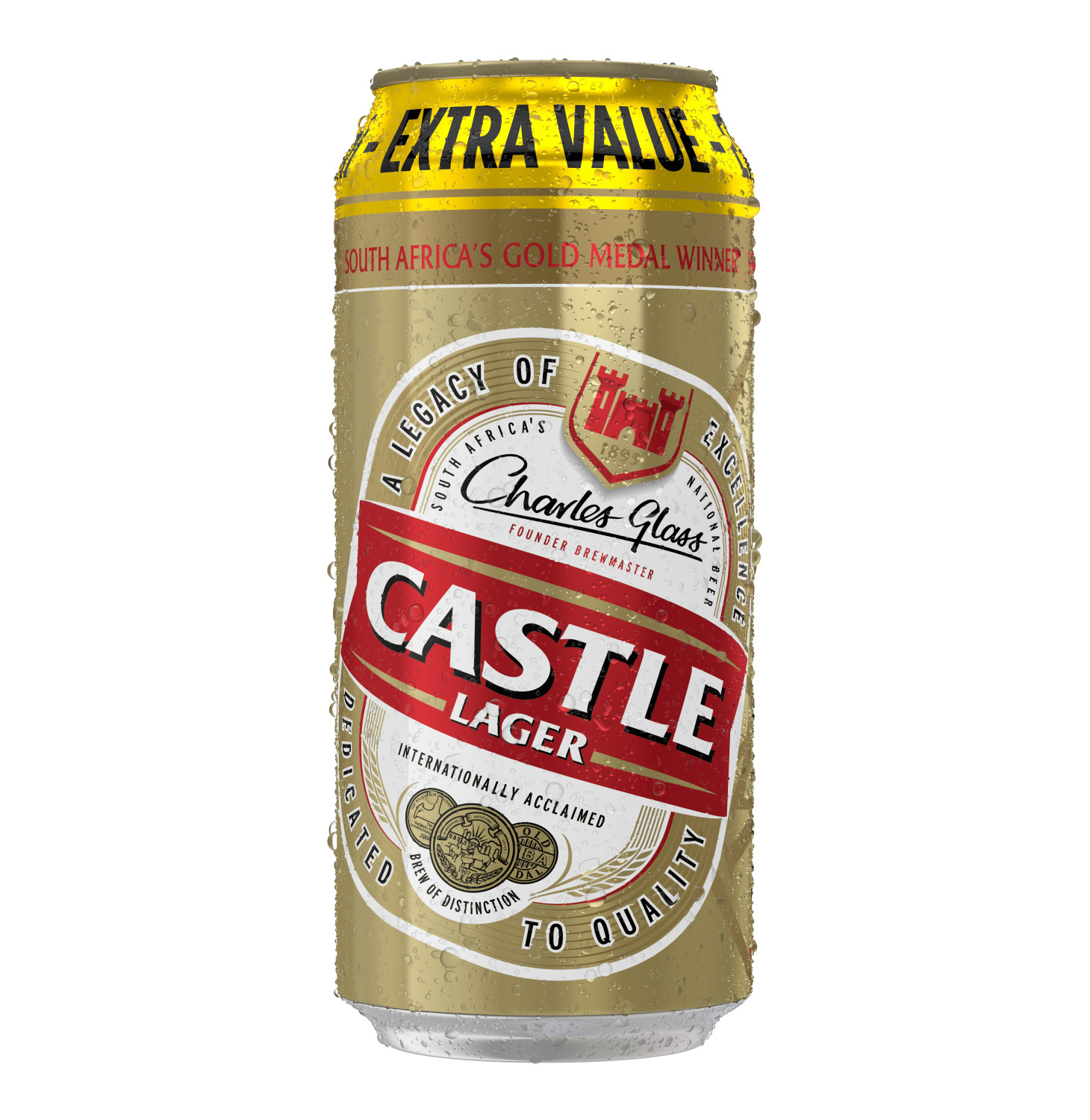 CASTLE LAGER BEER CAN 500ML