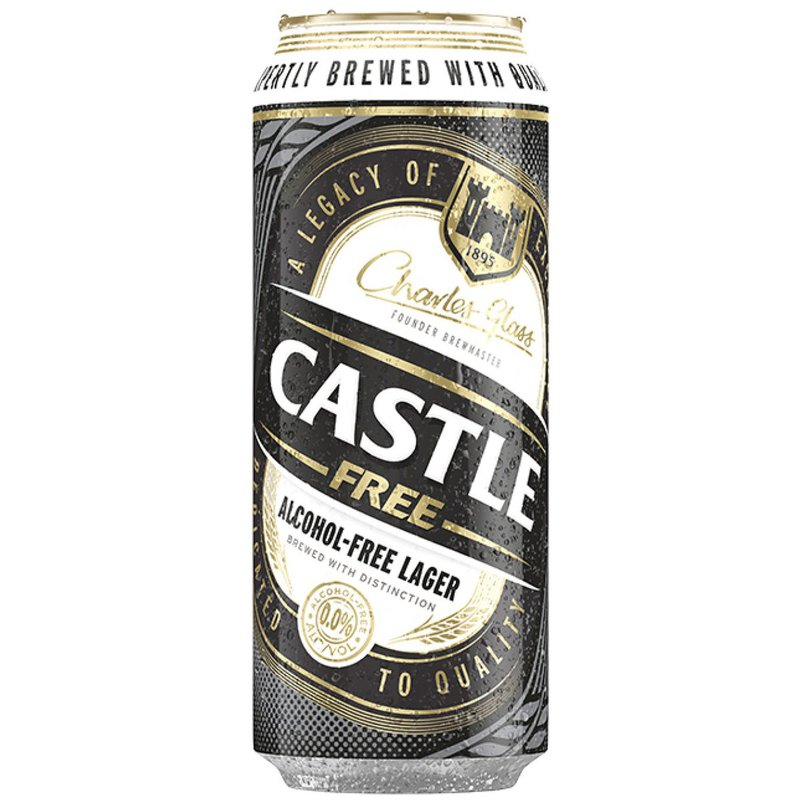 CASTLE FREE CAN 500ML