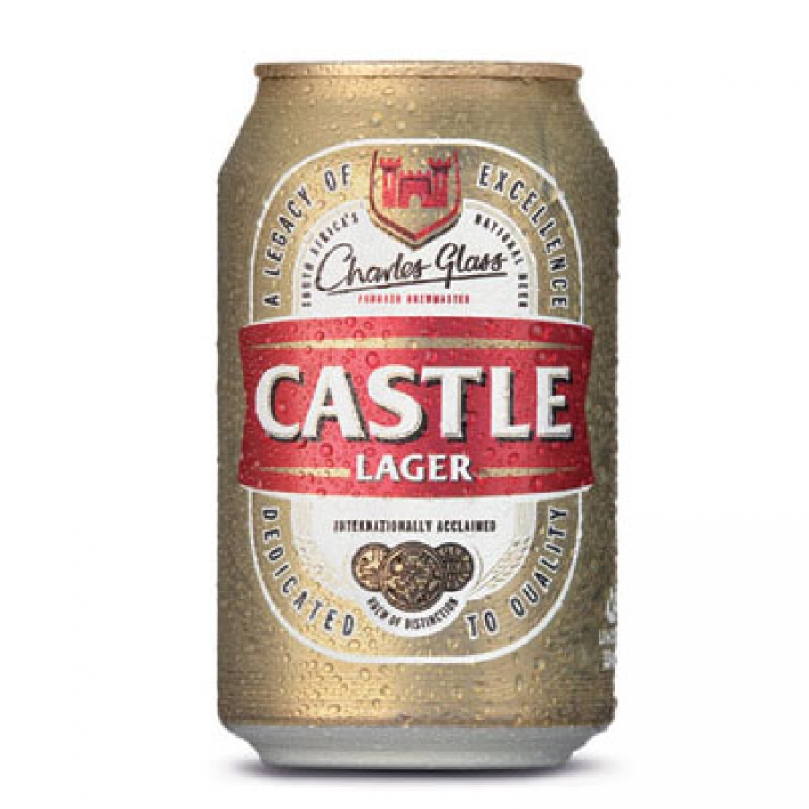 CASTLE LAGER CAN 330ML