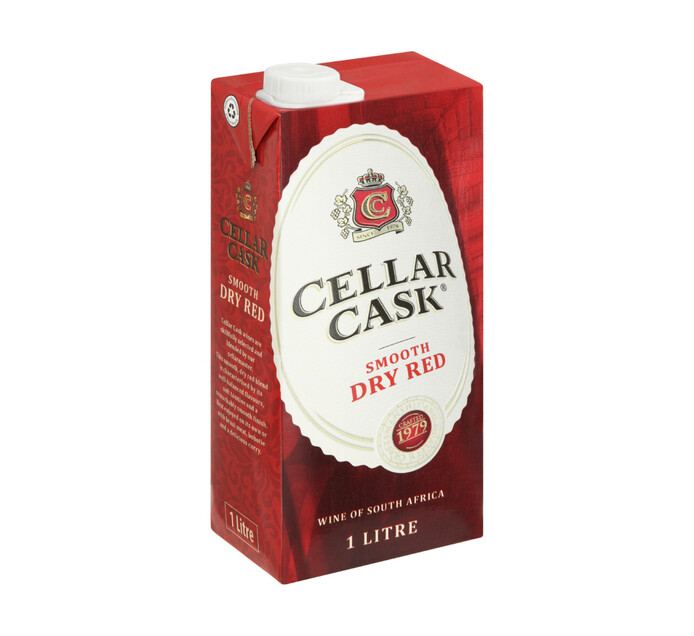 CELLAR CASK SMOOTH DRY RED 1L