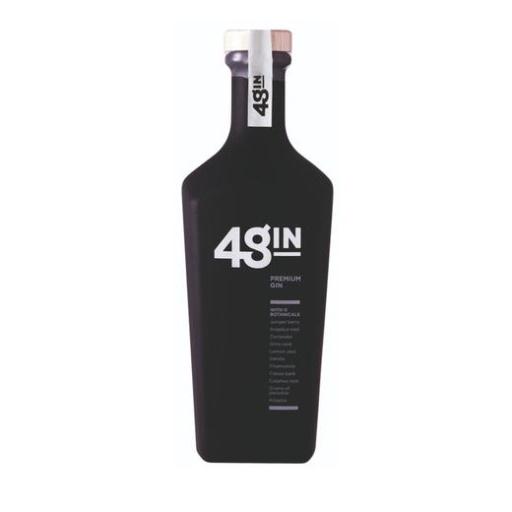 48GIN PREMIUM PLATINUM GIN 750ML