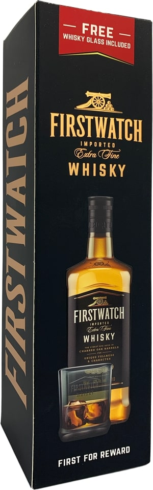 FIRSTWATCH WHISKY GIFT PACK 750ML