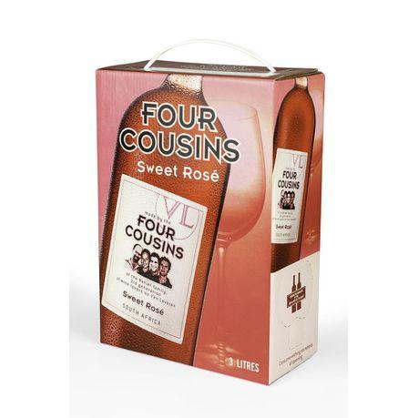 FOUR COUSINS SWEET ROSE 3L