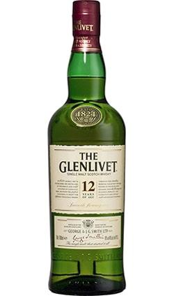 GLENLIVET 12YROLD WHISKY 750ML