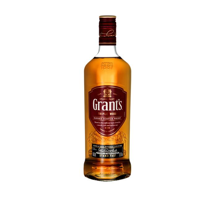 GRANTS TRIPLE WOOD SCOTCH WHISKY 750ML