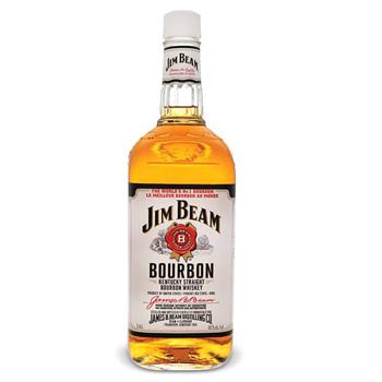 JIM BEAM WHITE BOURBON 750ML