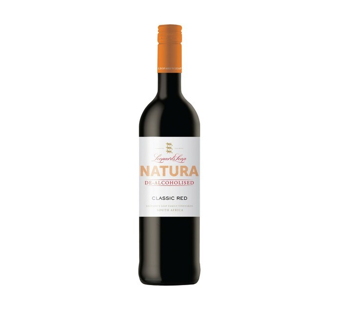 LEOPARD'S LEAP NATURAL DEALC RED 750ML