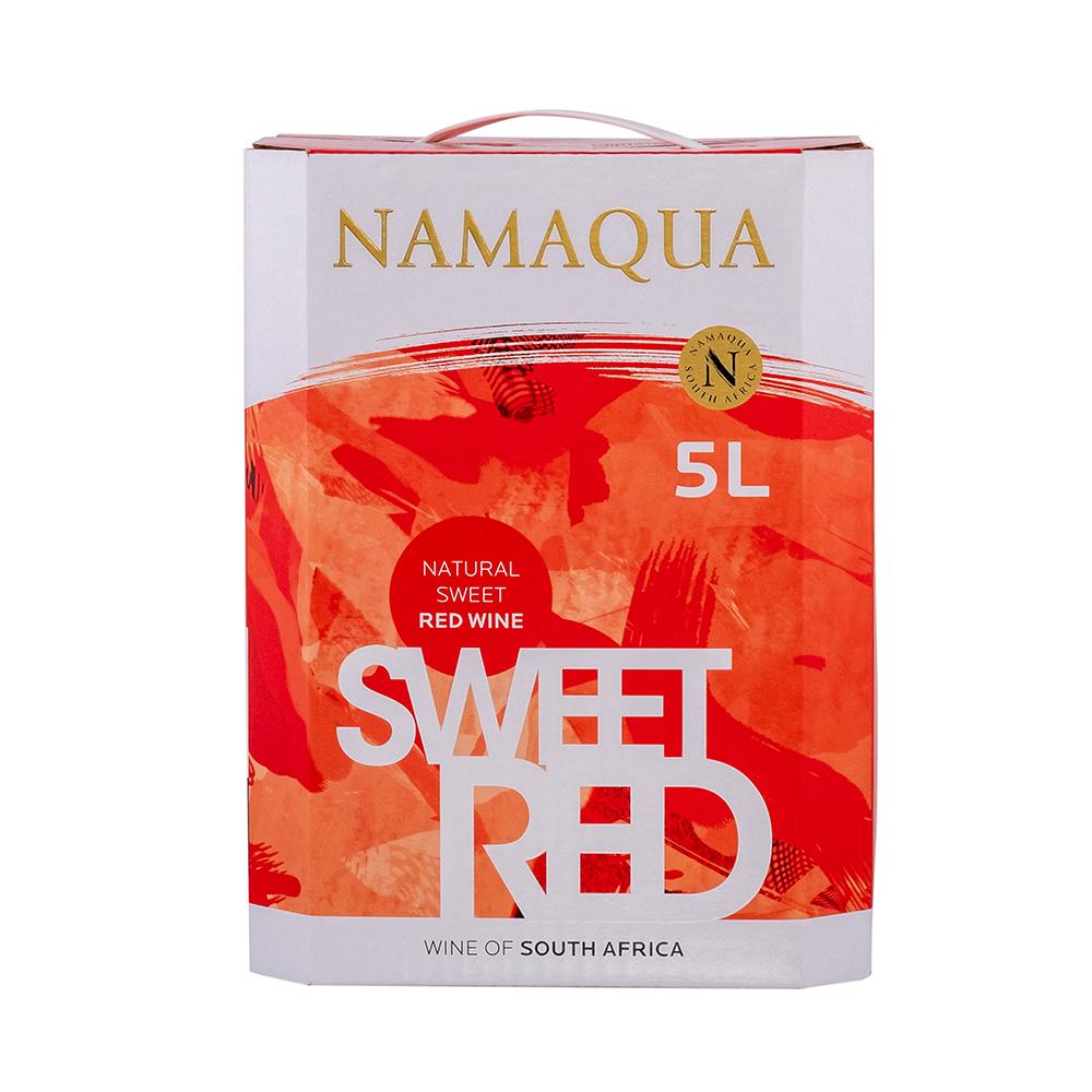 NAMAQUA NATURAL SWEET RED 5L