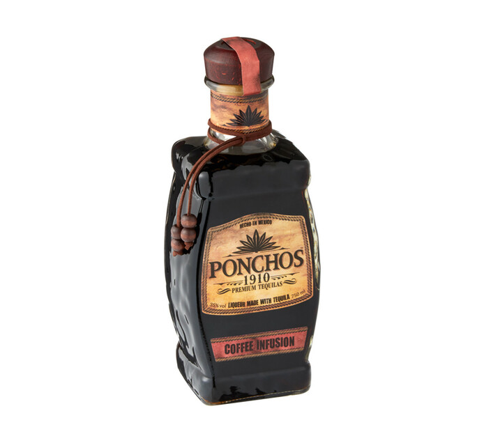PONCHOS 1910 TEQUILA COFFEE 750ML