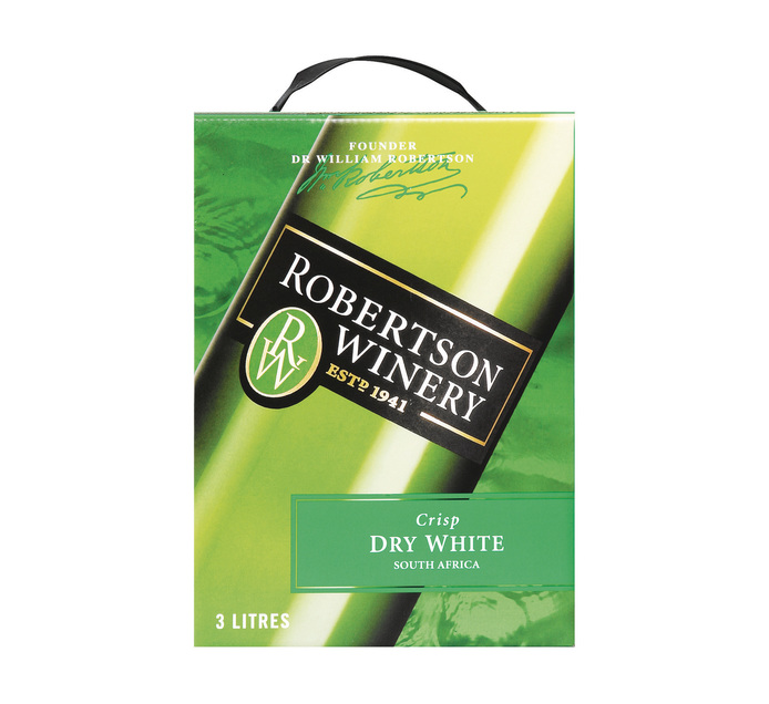 ROBERTSON CRISP DRY WHITE 3L